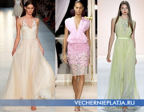 Вечерние платья лето 2012 от Alex Perry, Giambattista Valli, Jenny Packham