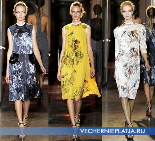 Шелковые платья в восточном стиле от Rue du Mail