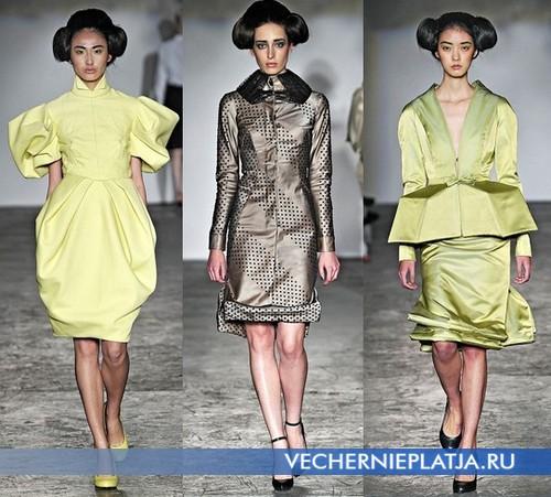 Восточные платья фасона кимоно от Corrie Nielson