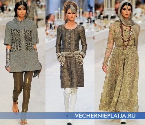 Бинди к восточным платьям от Chanel