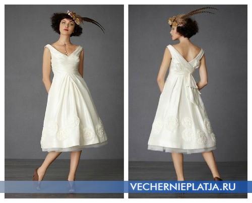 Свадебные платья 20 века фото