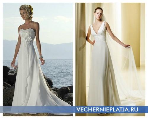 Модели современных свадебных платьев