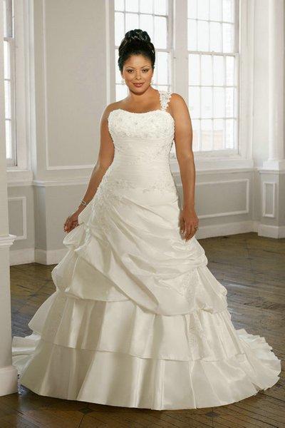 Свадебные платья с корсетом для полных