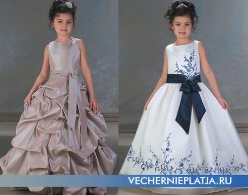 Оригинальные вечерние платья для девочек