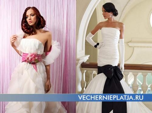 Необычные свадебные платья 2012 фото