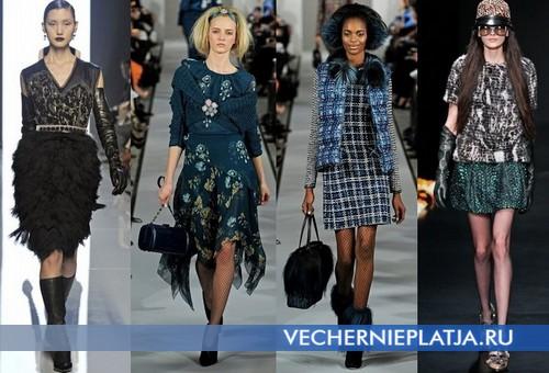 Модные платья для Нового года 2013