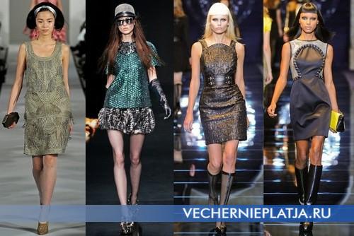 Коктейльные платья на Новый год 2013