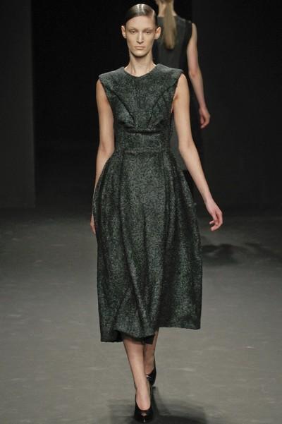 Платья осень 2012 фото