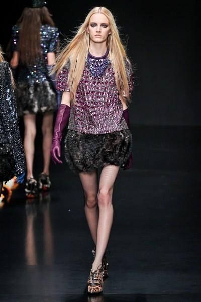 Осенние платья 2012 фото