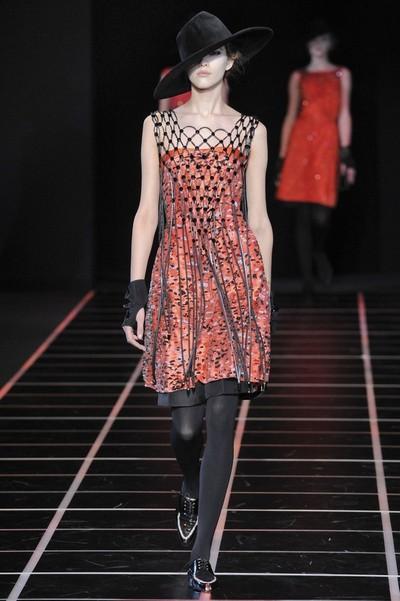 Стильные платья с шортами осень-зима 2012-2013