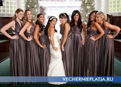Платье-трансформер для подружки невесты от Two Birds