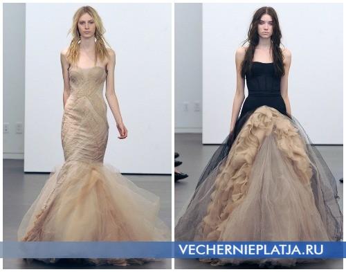 Свадебные платья на осень 2012 от Веры Вонг