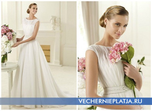 Осенние свадебные платья в стиле ретро