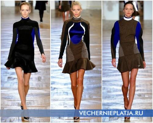 Короткие платья-свитера от Stella McCartney – фото осенне-зимней коллекции 2012-2013