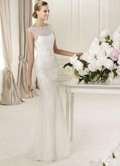Самые красивые свадебные платья годе фото