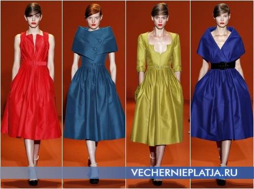 Платья в стиле стиляг на выпускной 2013 от Andrew Gn