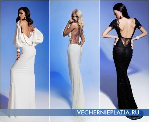 Платья с открытой спиной 2013 Olesya Malinskaya