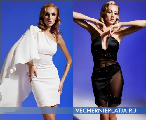 Оригинальные вечерние платья Olesya Malinskaya 2013