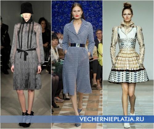 Платья с модным воротником от Alberta Ferretti, Christian Dior, Mary Katrantzou