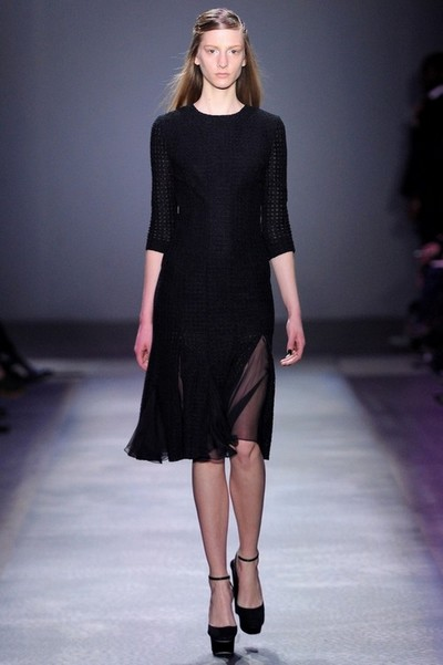 Черное платье вязаное Giambattista Valli