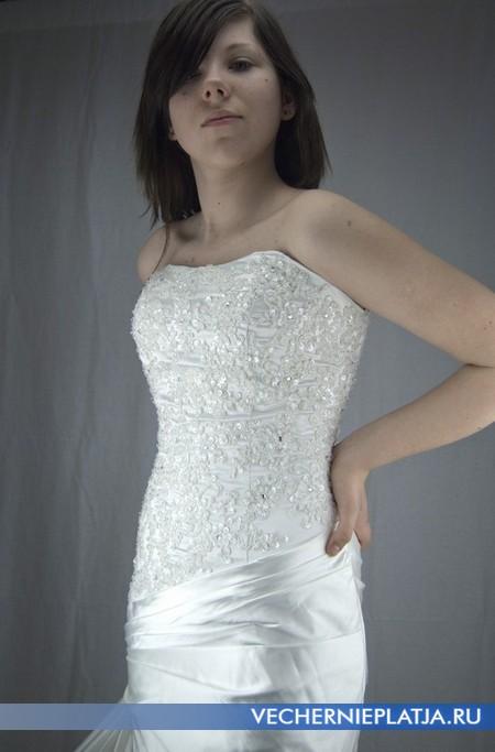 Свадебное платье с вышивкой под заказ из Китая