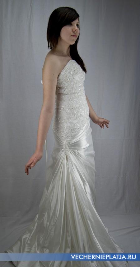 Свадебное платье Китай цвет айвори