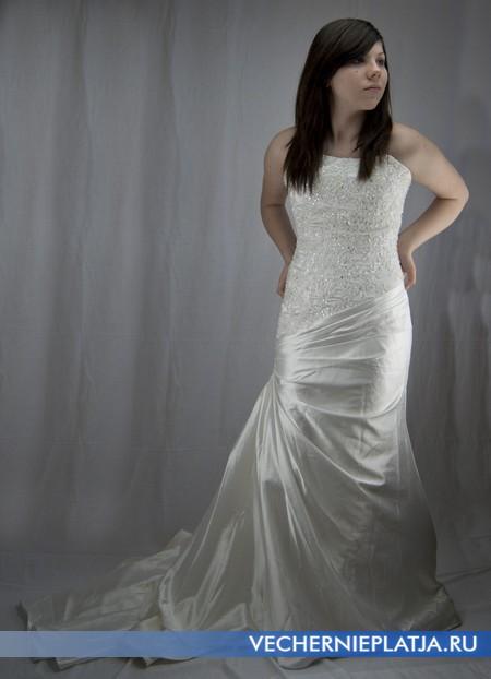 Купить свадебное платье цвета слоновой кости