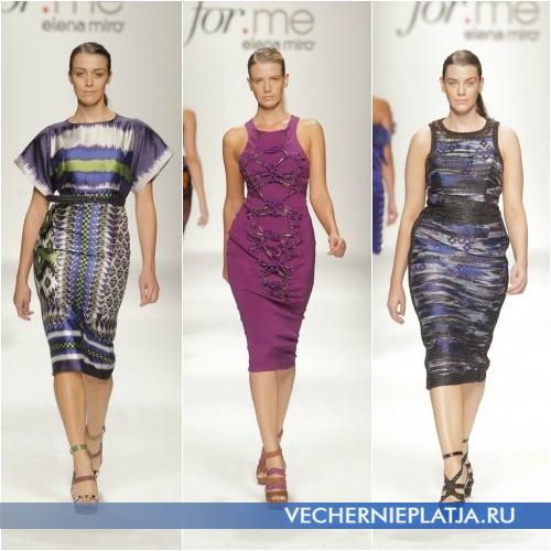 Платья футляр для полных Elena Miro 2013