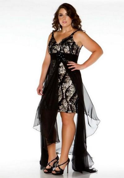 Короткое выпускное платье 2013 для полных фото