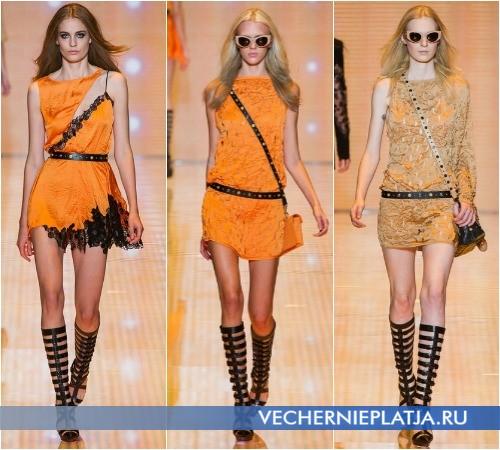 Короткие платья-туники лето 2013 от Versace