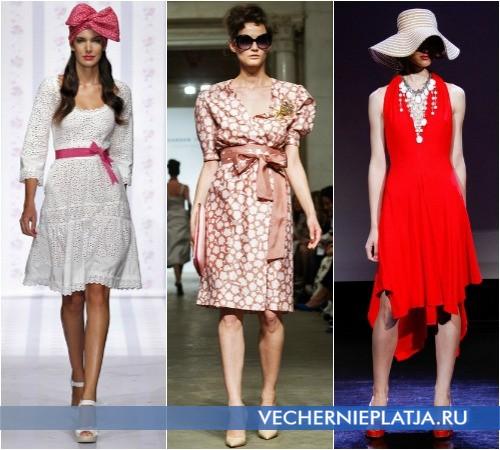 Летние платья в романтическом стиле от Luisa Beccaria, Alexander Terekhov, Douglas Hannant