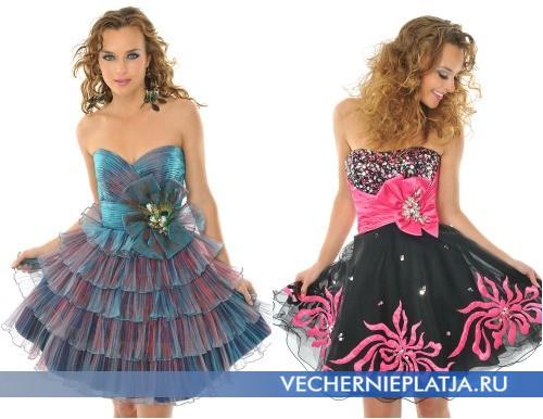 Красивый бант на платье
