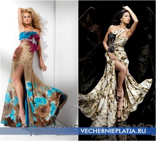 Красивые платья с бантом спереди фото