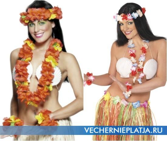 Одежда для новогодней гавайской вечеринки