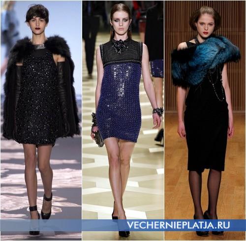 Модный декор платьев на год Лошади 2014