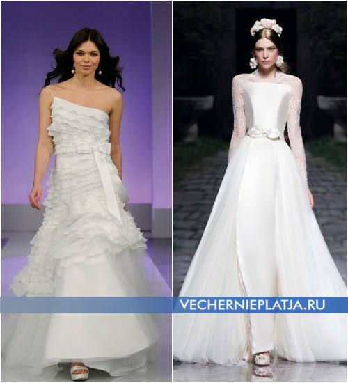 Как подобрать обувь под свадебное платье