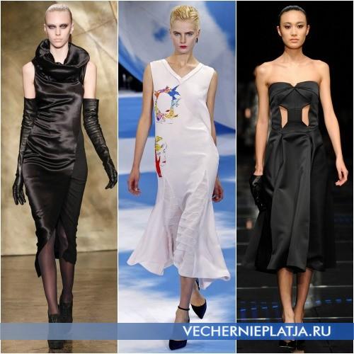 Модные платья Осень-Зима 2013-2014  фото обзор   Вечерние платья 164e1fd1da1