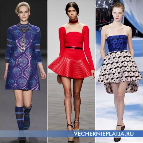 Мини-платья Осень-Зима 2013-2014