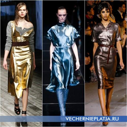 Платья в разных стилях Осень-Зима 2013-2014