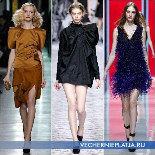 Фотографии модных платьев Осень-Зима 2013-2014