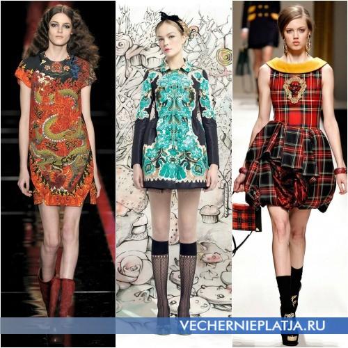 Молодежные этно платья фото