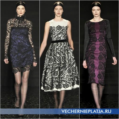 Платья с ажурным верхом