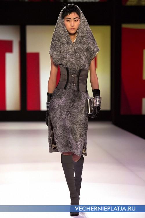 Самое роскошное платье из меха каракуля от Jean Paul Gaultier
