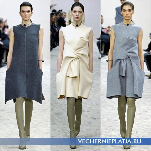 Модное платье oversize фото
