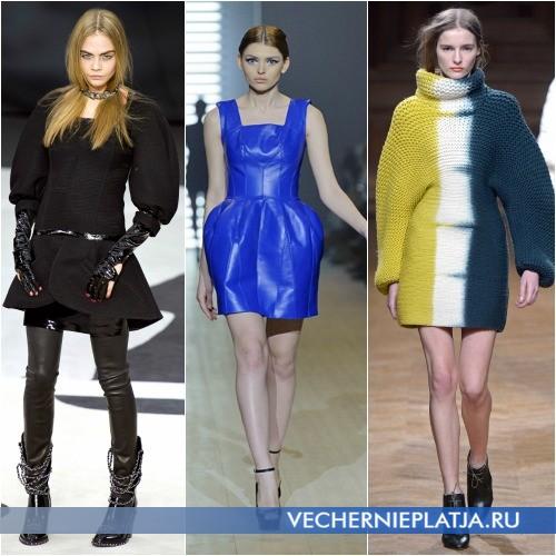 Модели платьев оверсайз фото