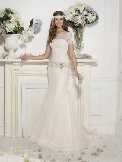 Свадебные белые платья 2014 Novia dArt