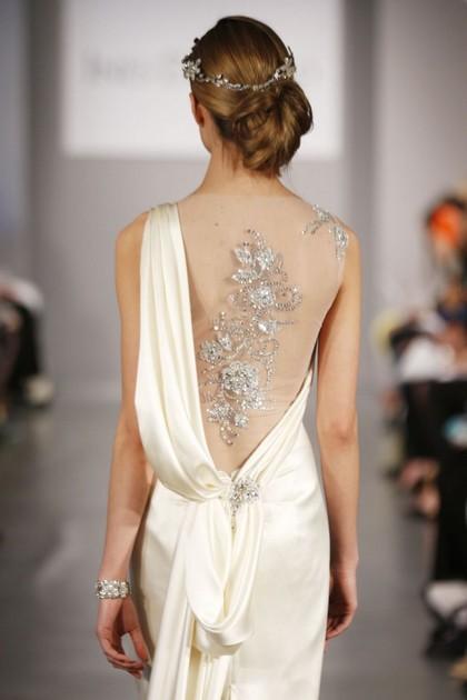 Декор свадебного платья 2014 от Ines DiSanto