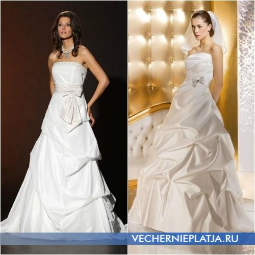 Свадебное платье принцесса для стройных невест
