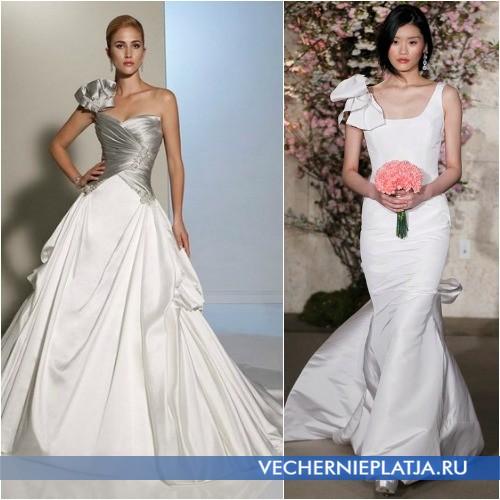 Как выбрать модель платья для невест с маленькой грудью