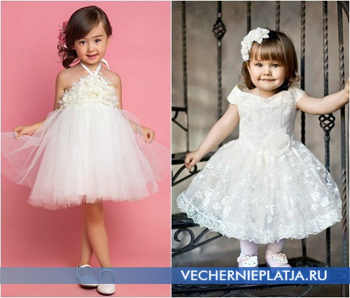 Красивые платья для девочек на свадьбу